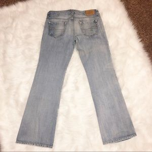 American eagle boyfriend 77 light wash size 8R